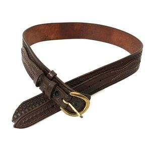 Vintage Don Hume Western Harness Belt